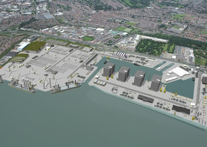 The redevelopment of Alexandra Dock as Green Port Hull will accommodate one of four original equipment manufacturers in the Humber region expected to be operational by April 2015.