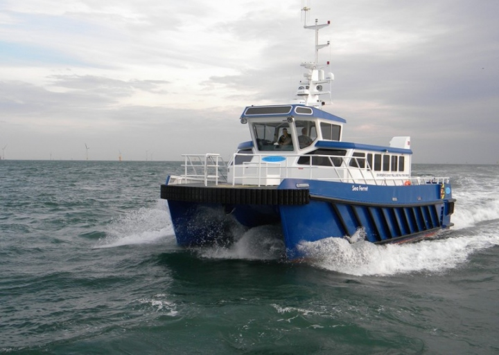 Under the terms of the agreement, South Boats Special Projects is now able to produce the Vigilante Workboats designs in GRP and aluminium.