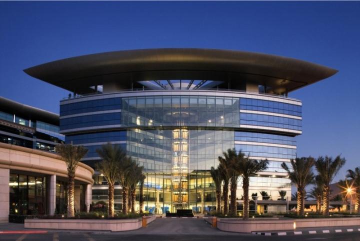 Dubai airport freezone Headquarter buliding