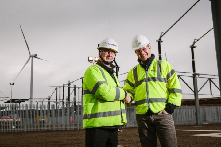 Ivan McCartney, Operations Director, Powerteam and John Penman, Construc