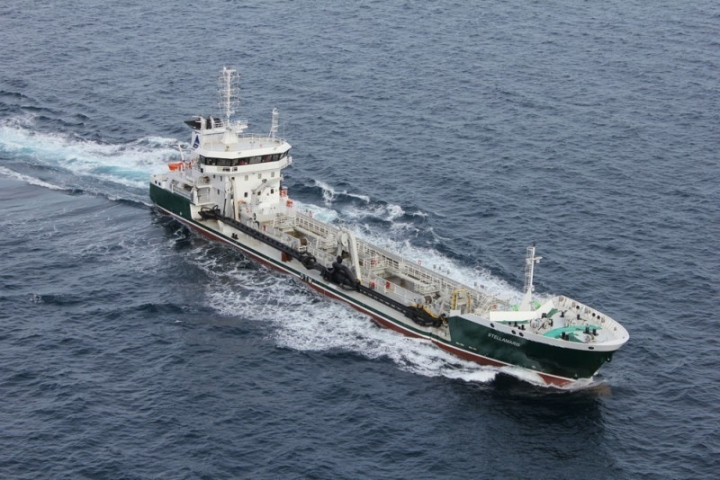 TSHD Stellamaris sailing in the Bay of Biscay LOW RES