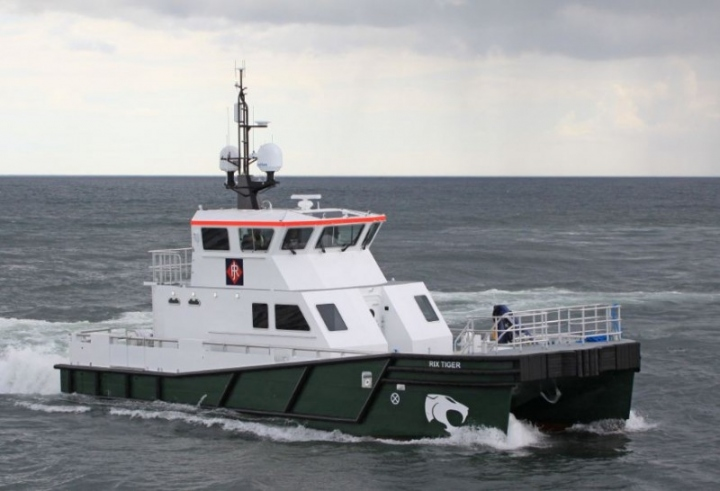 Rix Tiger on Sea Trials