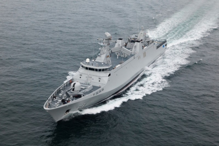 Tarik Ben Ziyad at sea (1)