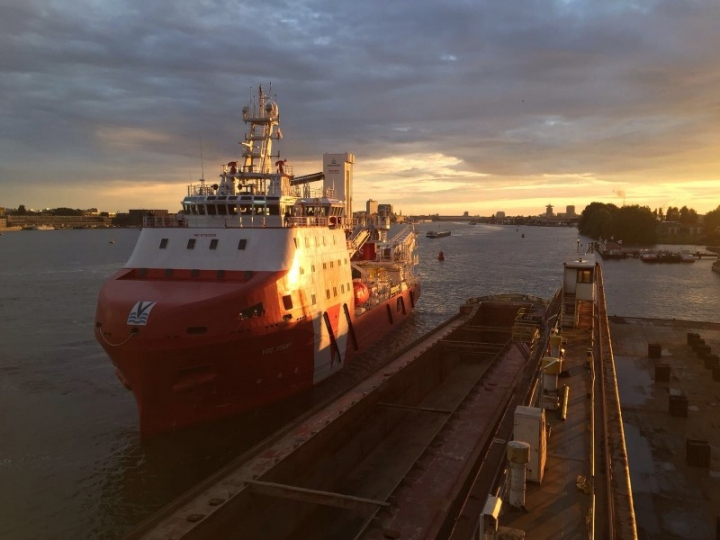 VOS Start at Damen Shiprepair Oranjewerf (1)