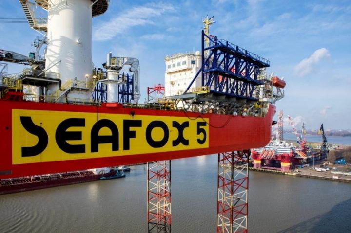 Seafox 5 at Damen Verolme Rotterdam (2)