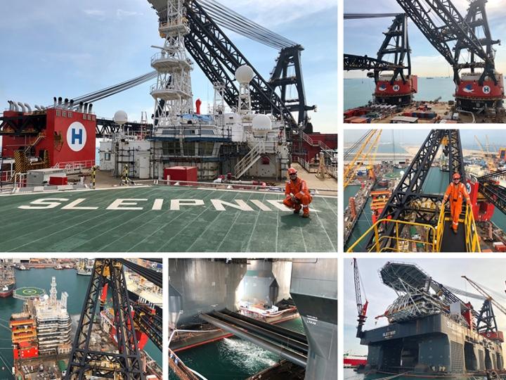 Worlds Largest Crane Vessel