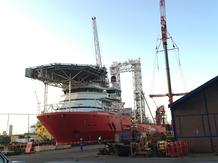 Geotechnical Marine Drilling Vessel