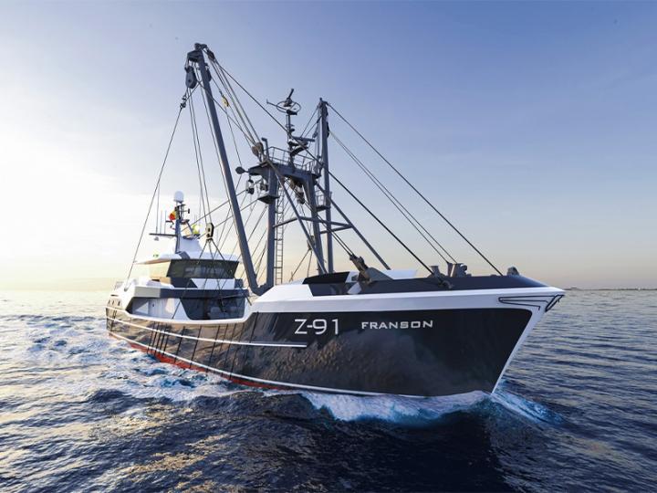 Long Beam Trawler