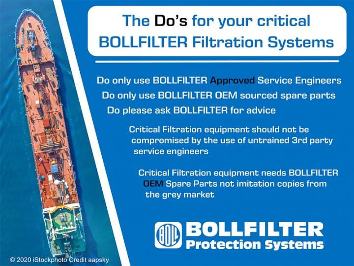 Bollfilter Filtration System