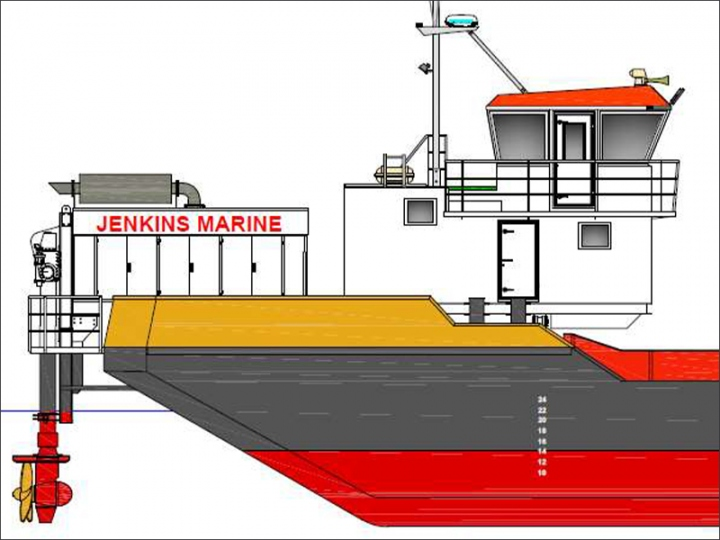 Split Hopper Barges
