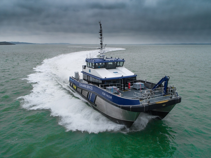 Workboat - Iceni Valour
