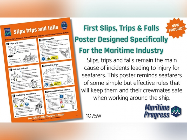 Maritime Industry Security Poster