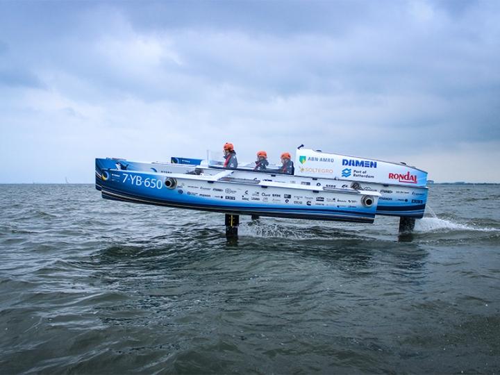 Flying Hydrogen Boat