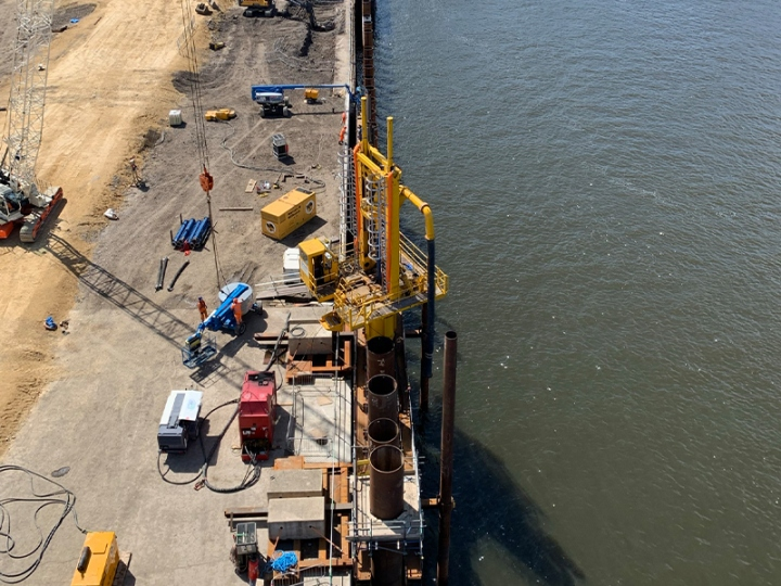 Quay Wall Construction