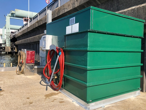 Bilge Waste Transfer Station