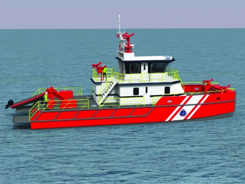 Marine Firefighting Vessel