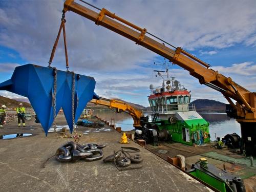 Marine Anchoring Vessel