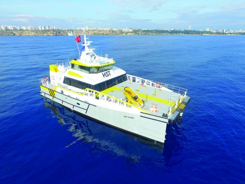 Fast Crew Supplier Vessel